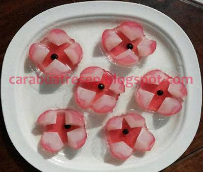 Foto Resep Puding Jambu Sederhana Spesial Bentuk Jambu Air Asli Enak