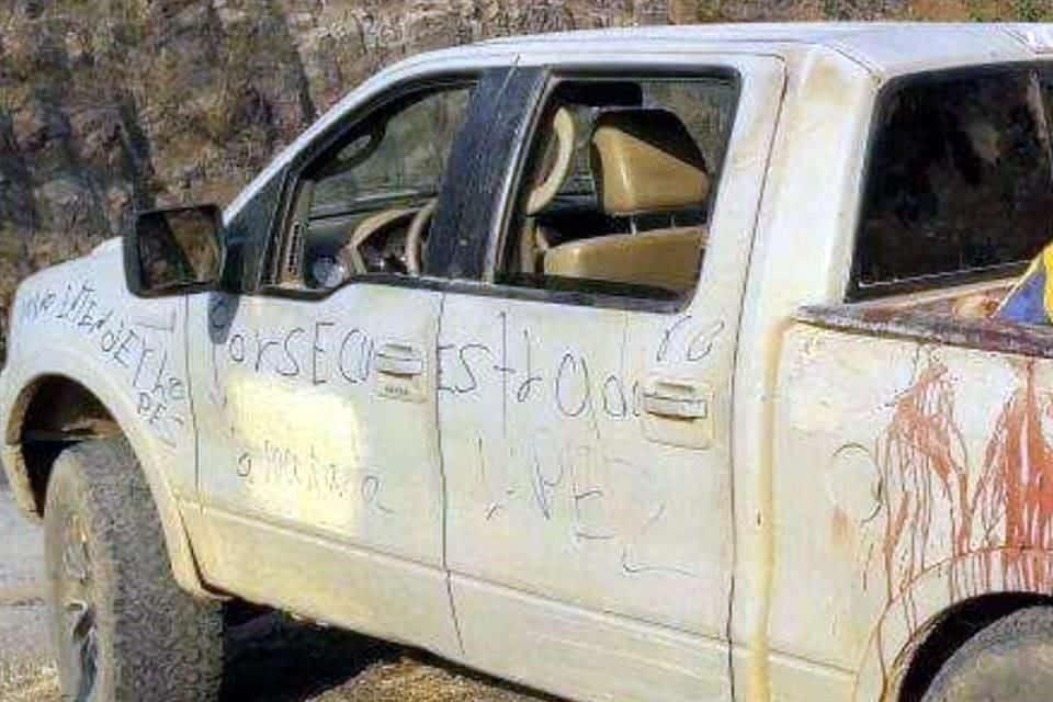 """""""La Macana"""" , uno de los 15 ejecutados  abandonados en camioneta clonada de la MARINA en  Michoacán"""