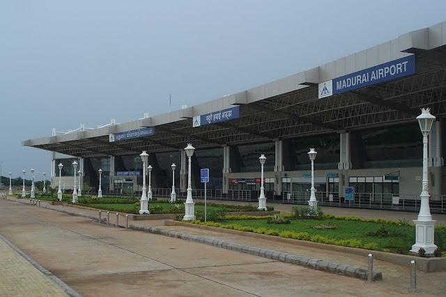 air transport in madurai