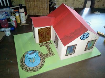 Diy Rumah Kotak Pagar Rumah