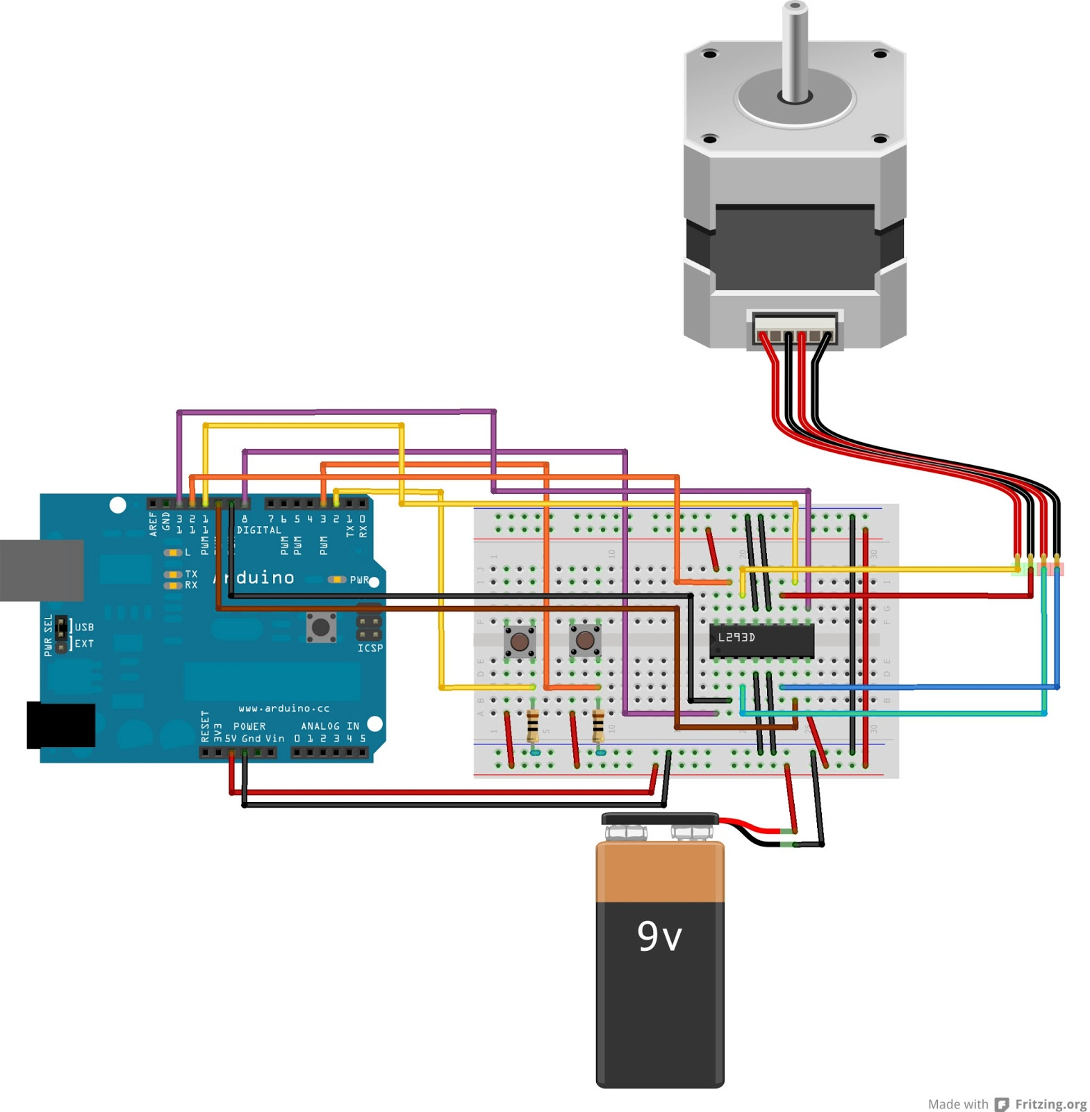 4 wire motor connection diagram signalstation vegesack stepper controller schematic get free image