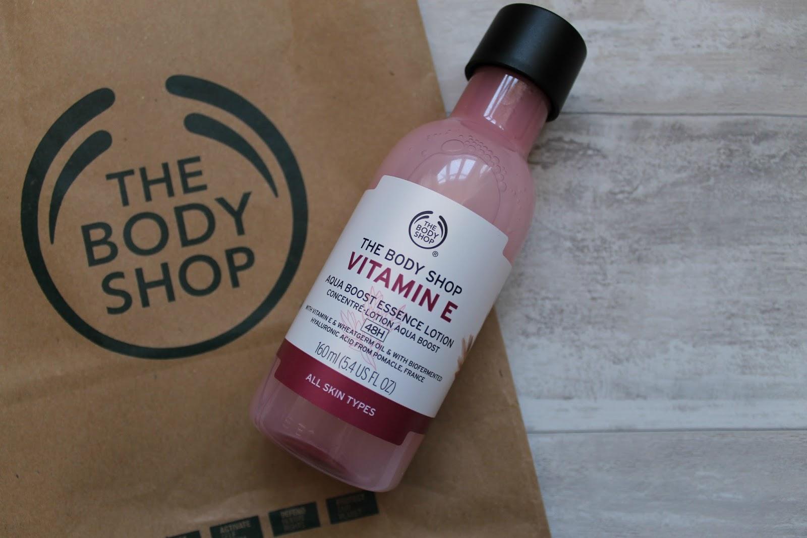 The Body Shop Vitamin E Aqua Boost Essence
