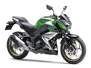 Kawasaki Z250 ABS terbaru 2016 hijau