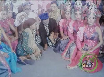 Seni Galura Lengser Mapag Pengantin Di Subang, Jabar