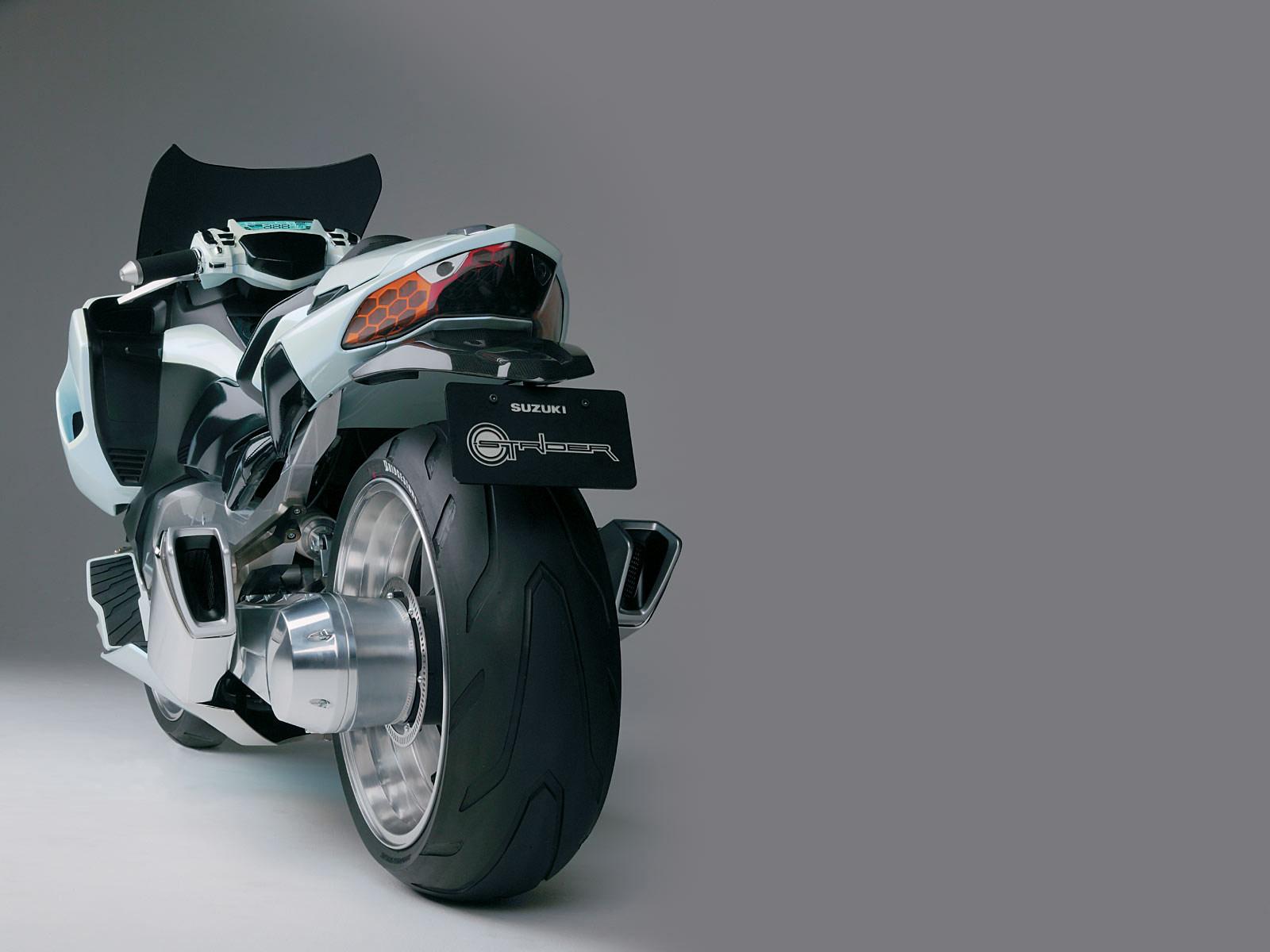 2004 SUZUKI G-Strider Concept motorcycle desktop wallpaper