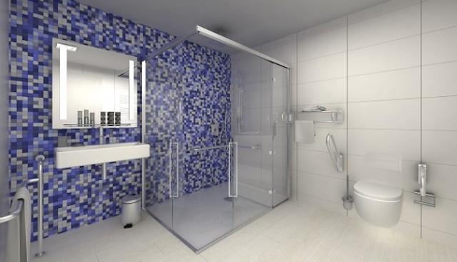 Acessibilidade em hotéis - banheiro