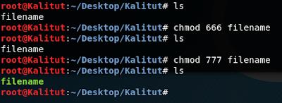 chmod linux command