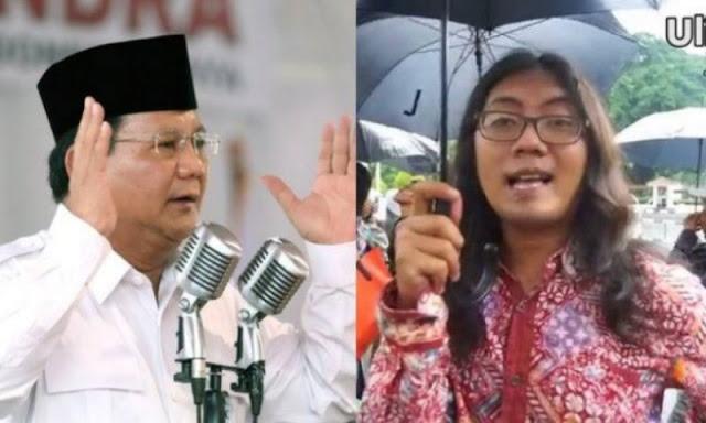Nyinyir Prabowo Tak Bisa Jadi Imam Shalat, Ulin Yusron Di-skak Netizen dengan Bukti Foto Ini