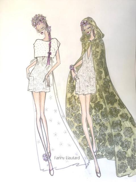 Collection robes de mariée Fanny Liautard Paris