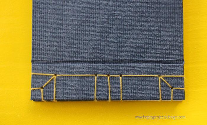 encuadernación japonesa: el cosido