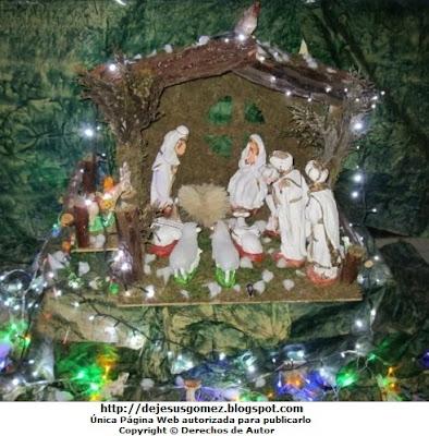 Foto del Nacimiento de Jesús con muchos animales por Jesus Gómez