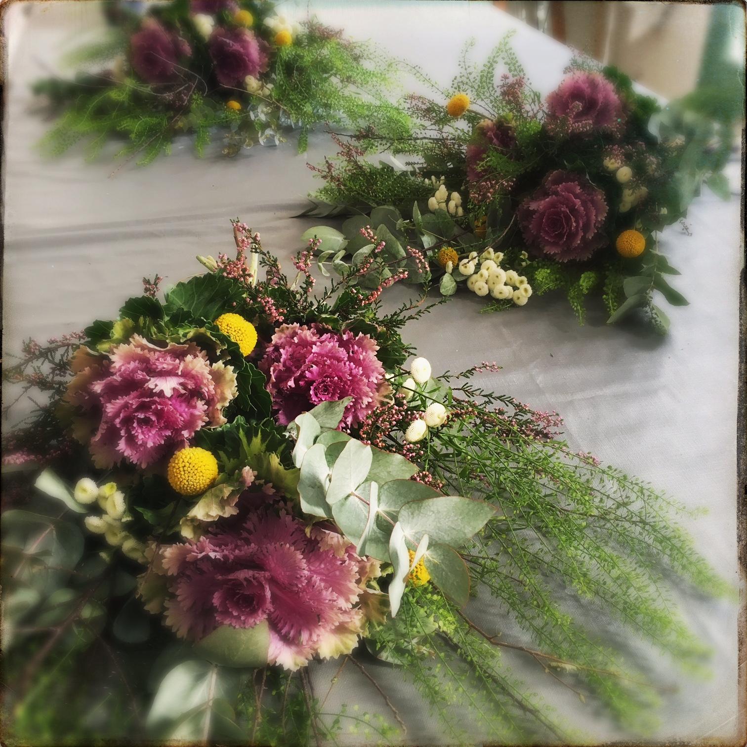 Les Fees Nature Bouquet Chou En Atelier