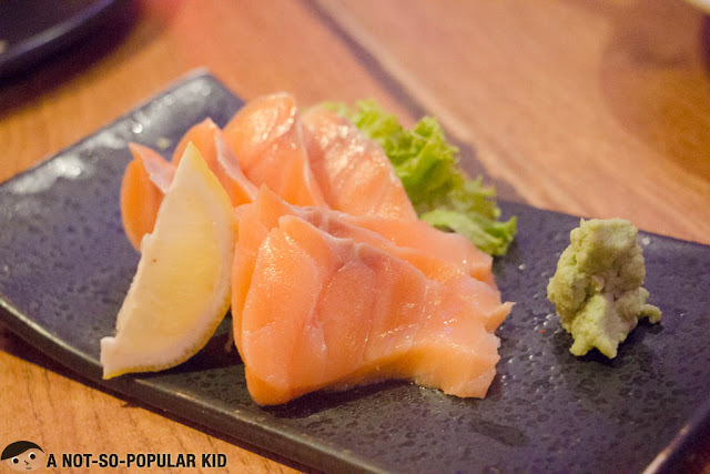 Salmon Sashimi of John and Yoko