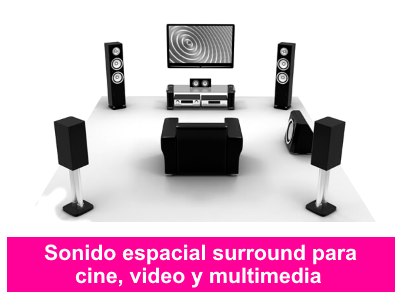 surround para cine video y multimedia
