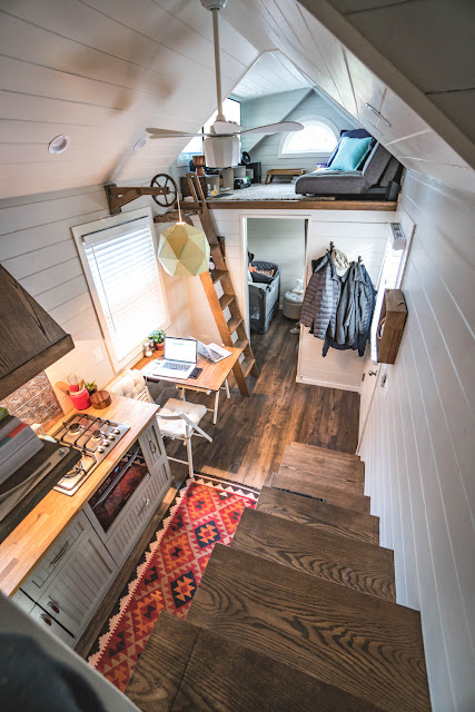 Tiny house town little bitty tiny house 224 sq ft for New age home designs