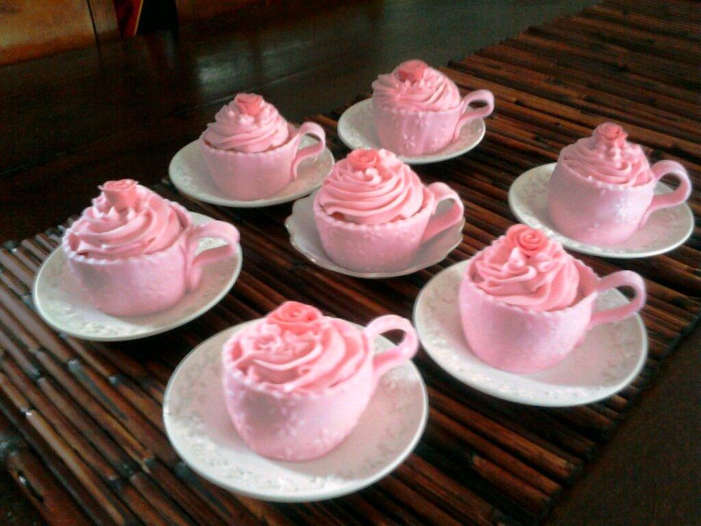 Aimeejo Desserts Tea Cup Cupcakes For Lori Edwards