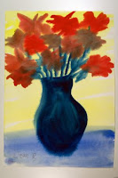 An example of dementia patient art from The Art of Alzheimer's