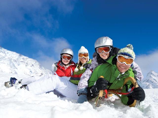 Estação de esqui Las Leñas na Argentina