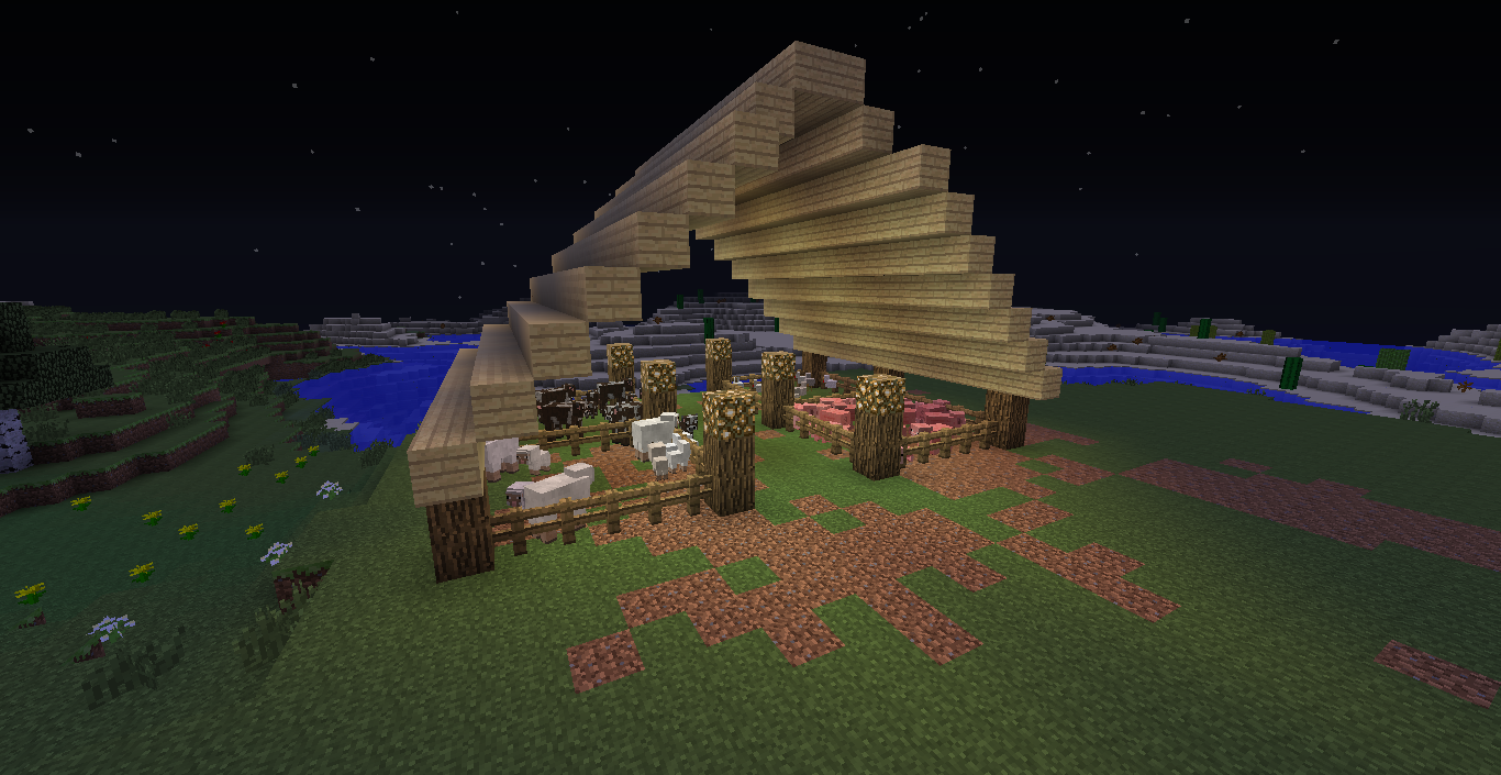 Pictures of Minecraft Farm Ideas - #rock-cafe