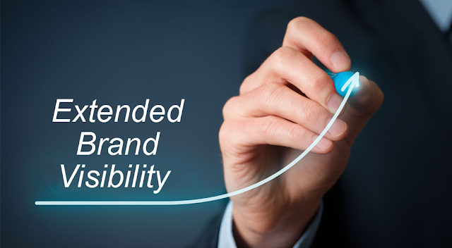 Extended brand visibility