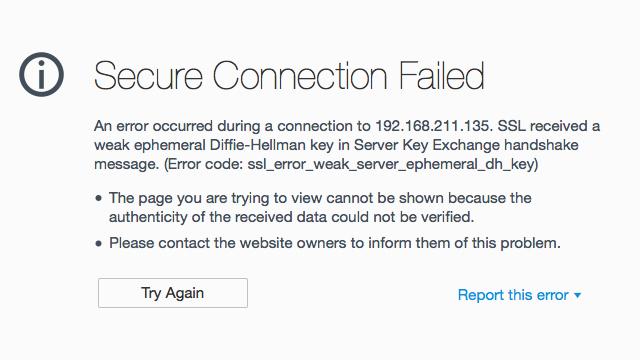 Cara Mengatasi Secure Connection Failed pada Mozilla Firefox