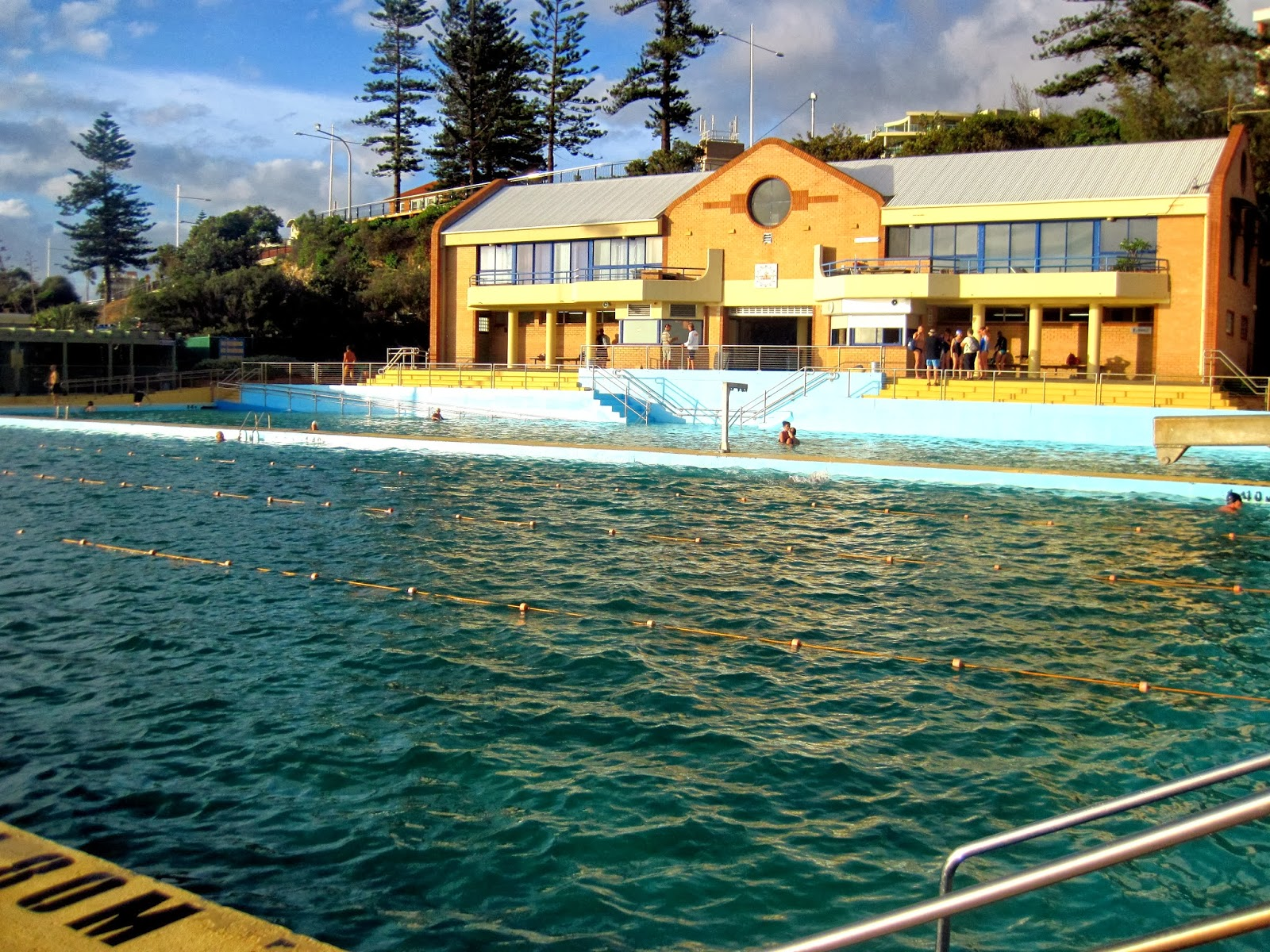Swimming January 2014