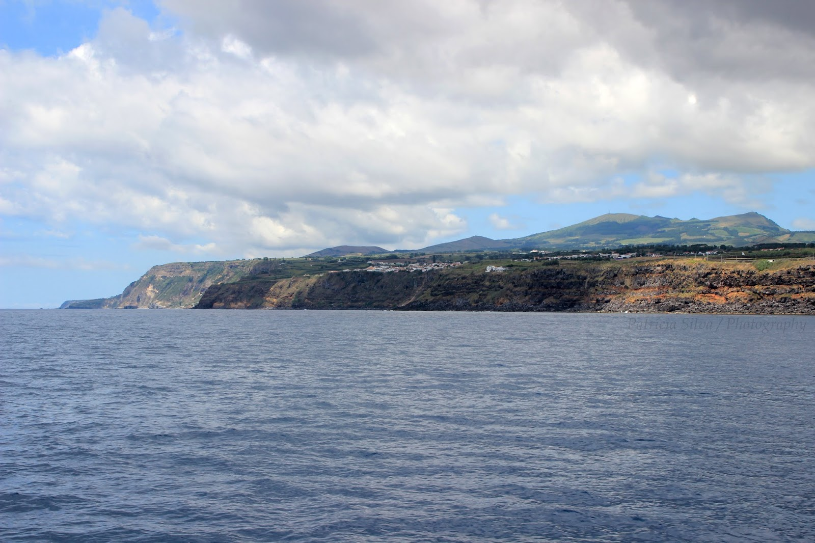 São Miguel seen from the boat
