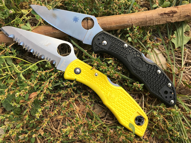 Spyderco Delica 4 vs. Salt 1