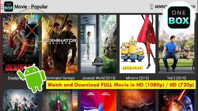 OneBox HD Android Movies Apk
