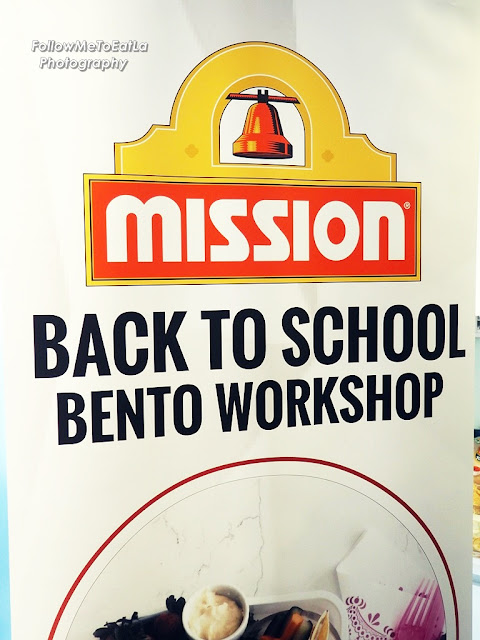 Moms On A Mission For Healthier Bentos With Mission Foods Back-To-School Bento Workshop