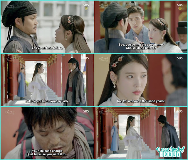 hae soo saw the person she met with in modern era but that person refuse to recognize her  - Moon Lovers: Scarlet Heart Ryeo - Episode 5 Review