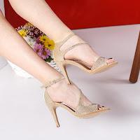sandale aurii elegante de ocazii speciale ieftine