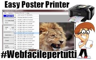 Come creare dei poster di grandi dimensioni utilizzando una comune stampante con Easy Poster Printer