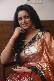 Udaya Bhanu lookssizzling in a Saree Choli at Gautam Nanda music launchi ~ Exclusive Celebrities Galleries 031.JPG