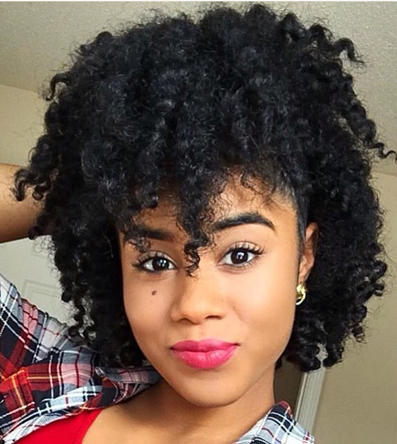 Regardless Of Your Natural Hair Texture Faux Bangs Can Be Achieved On Almost Any You Wear Them Twisted Braided In A Puff