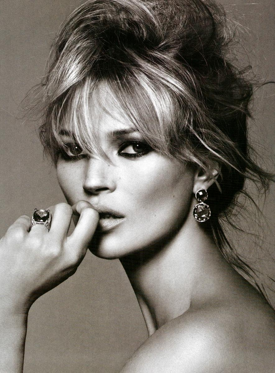 Kate Moss Is The Queen Of Cool On 37th Vogue Uk Cover: FA: Kate Moss