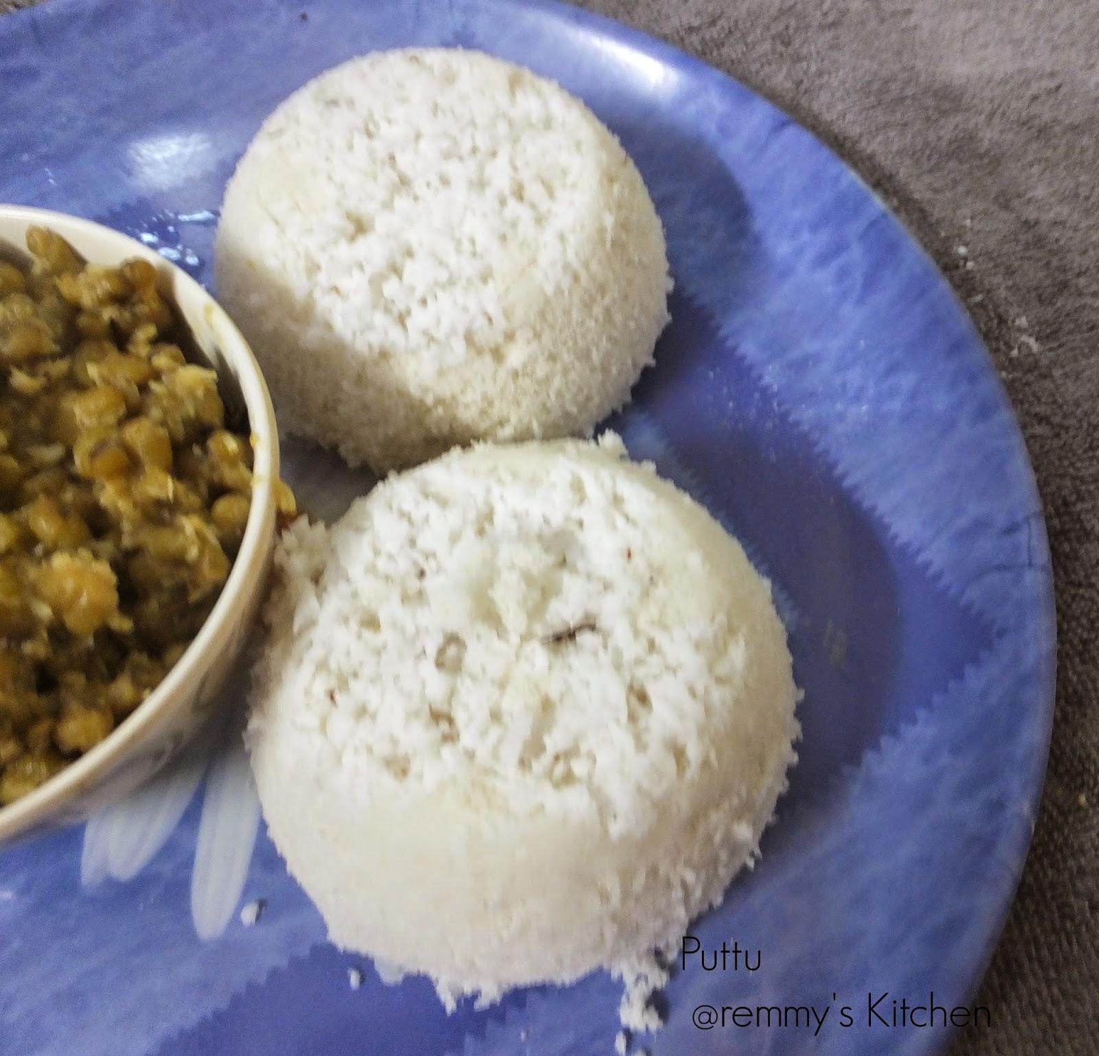 Puttu/ Rice puttu/Easy method to make soft rice puttu