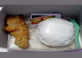 Ayam Kentucky Kaki Lima