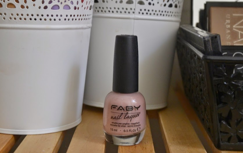 NOTD: Faby Nails Sensual Touch