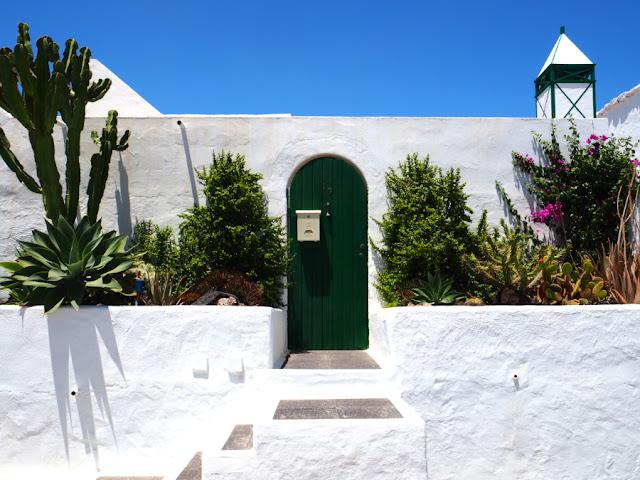 Una casetta tipica di Lanzarote