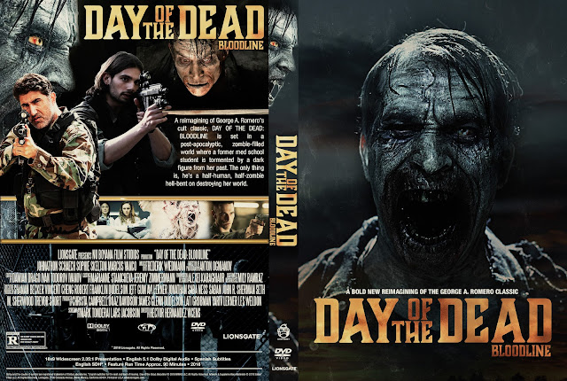 Day Of The Dead Bloodline DVD Cover