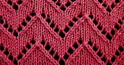 Chevron Lace 1 Knitting Stitch Patterns
