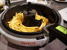 Healthy Fried Chips using the Tefal ActiFry