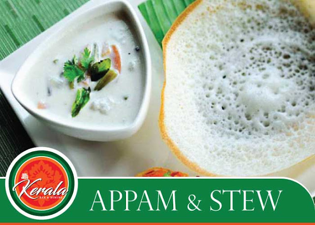 Tempting appam stew avaiable just kerala book your for Appam and chicken stew kerala cuisine
