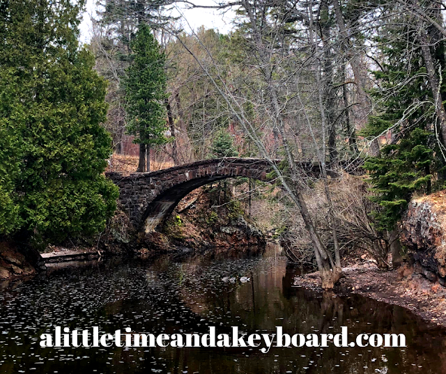 Picture perfect foot bridge sets a tranquil scene at Glensheen