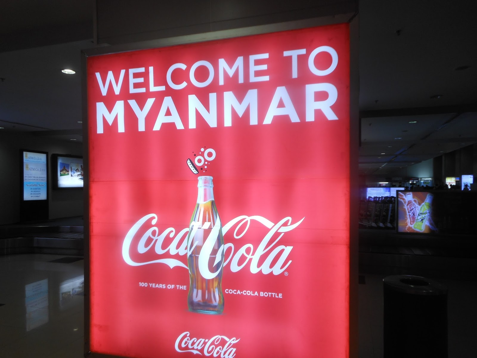 In the Kingdom of Thailand: Welcome to Myanmar ဗမာ