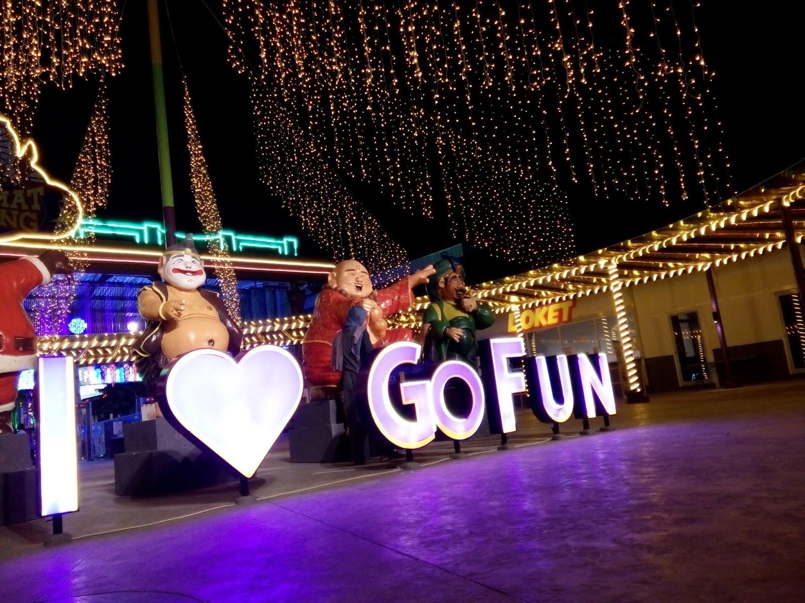 Jalan Jalan Ke Gofun Bojonegoro Theme Park Destinasi Wisata Wahana