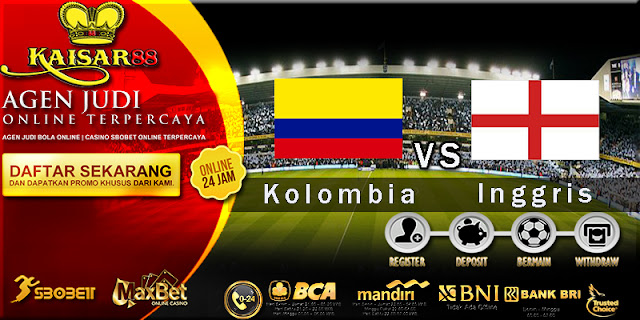 Prediksi Bola Jitu Kolombia Vs Inggris 4 Juli 2018
