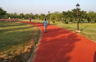 Janeshwar Mishra Park Jogging Track