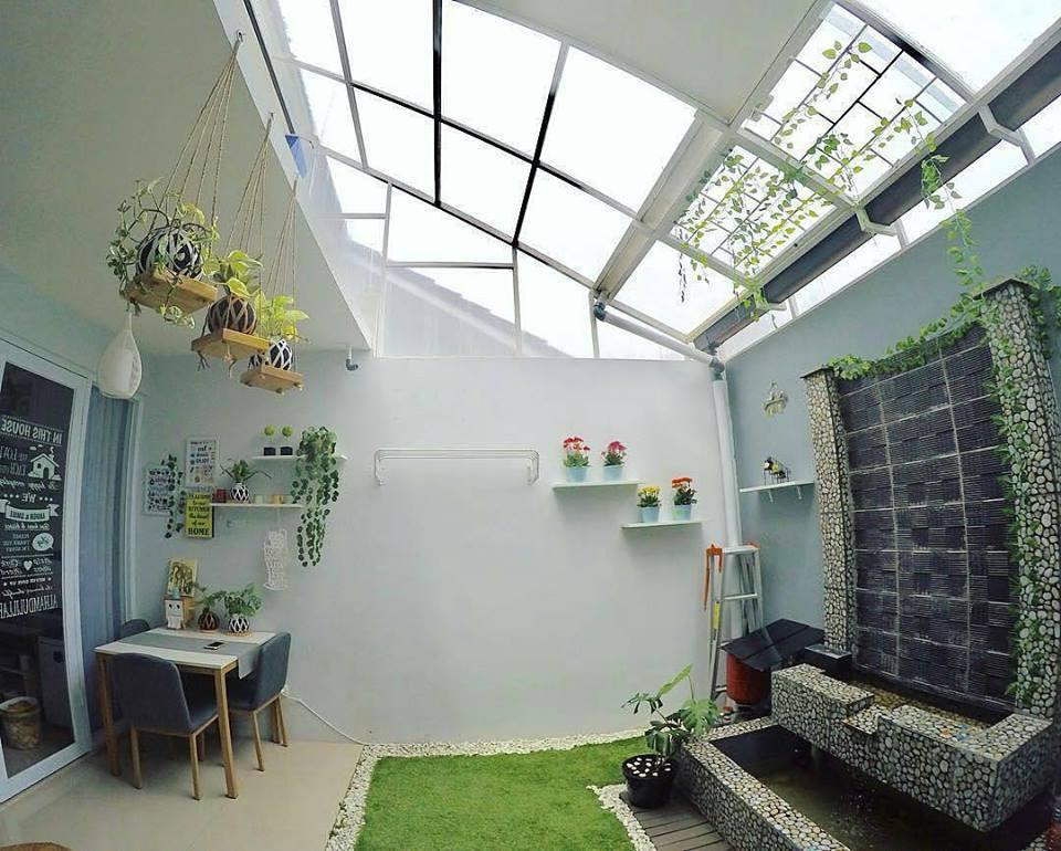 Cara Memasang Atap Kaca Tempered Rumah Shabby Chic